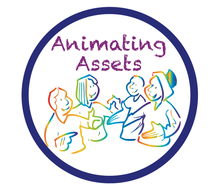 Animating assets logo