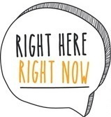 Right here right now rhrn logo
