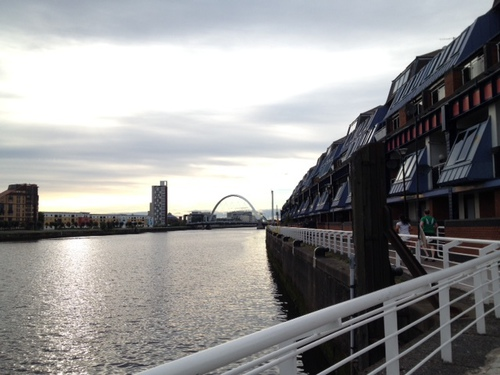 The view from Jill's Clydeside commute