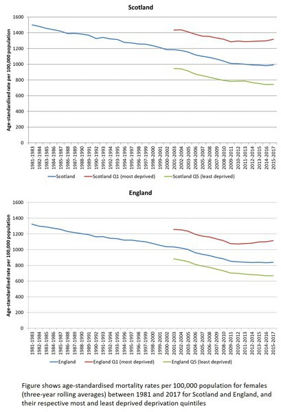 Mortality rates graphs - if you require an accessible version please email info@gcph.co.uk